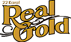 23 Karat Real Gold Logo